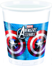 8 Avengers Assemble Theme Plastic Party Cups
